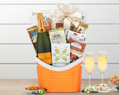 Veuve Clicquot Champagne Gift BasketVeuve Clicquot Champagne Gift Basket ...
