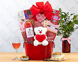 Suggestion - Windwhistle Valentine Red Moscato Wine Basket