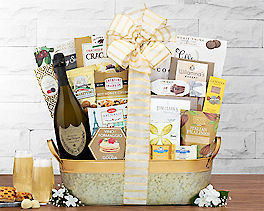 Suggestion - Dom Perignon Champagne Gift Basket