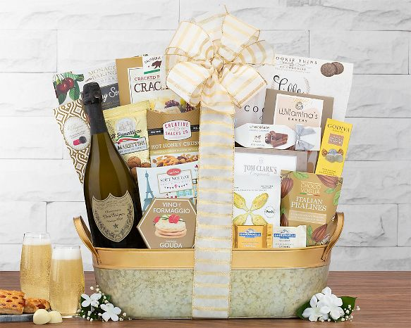 Dom Perignon Champagne Gift Basket Gift Basket at Wine Country Gift Baskets