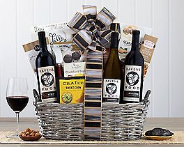 Suggestion - Ravenswood Red and White Wine Basket Original Price is $99.95