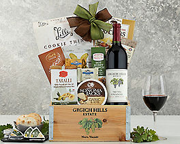 Suggestion - Grgich Hills Zinfandel Wine Gift Basket Original Price is $99.95