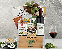 Suggestion - Grgich Hills Merlot Wine Gift Basket Original Price is $115