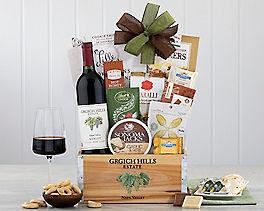Suggestion - Grgich Hills Merlot Wine Gift Basket Original Price is $125