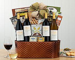 Suggestion - Premium California Quartet Wine Basket Original Price is $180