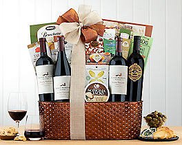 Suggestion - Robert Mondavi Napa Valley Quartet Wine Basket Original Price is $325