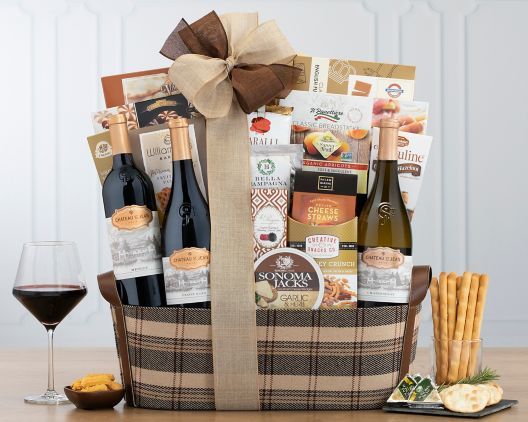 Image result for Chateau St. Jean Collection Gift Basket