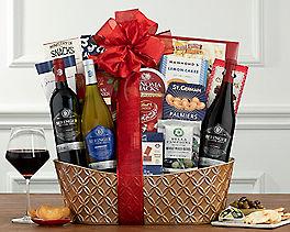 Suggestion - Beringer Founders' Estate Trio Wine Basket Original Price is $175