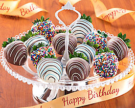 Suggestion - Birthday Dipped Strawberries (full dozen)
