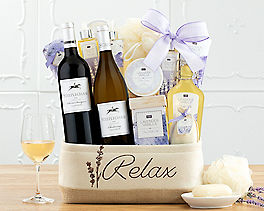 Suggestion - Steeplechase Vineyards Spa Collection Gift Basket