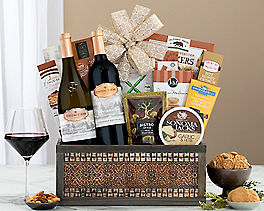 Suggestion - Chateau St. Jean California Duet Wine Basket Original Price is $150