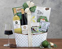 Suggestion - California Pinot Noir and Chardonnay Wine Basket