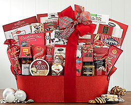 Suggestion - Sweet and Savory Seasonal Selection Gift Basket Original Price is $150.00