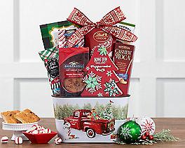 Suggestion - Nostalgic Winter Sweets Assortment Gift Basket Original Price is $49.95