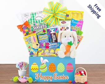 Easter baskets at wine country gift baskets item 992 quick look wishlist wishlist easter extravaganza gift basket negle Image collections