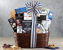 Suggestion - Hot Off the Grill Gift Basket Original Price is $74.95