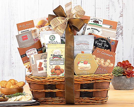 Bon Appetit Gourmet Gift Basket At Wine Country Baskets